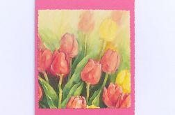 Uniwersalna kartka tulipany 2