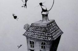 Rysunek piórkiem KOTY