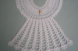 biała szatka do chrztu 2