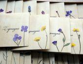 Zaproszenia ślubne ekologiczne z kwiatami
