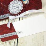 Kopertówka ślubna- damaski w turkusach