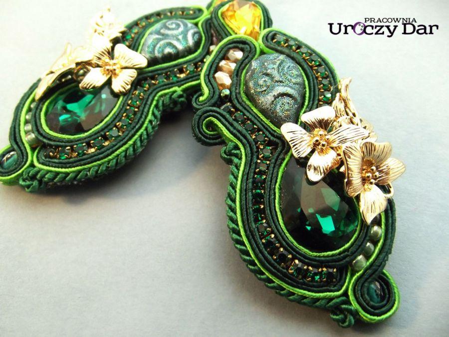 Kolczyki Magia zieleni