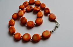 pomarańczowe korale
