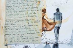 """""""PRZEZNACZENIE"""" collage, kolaż na papierze A3"""