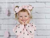 Opaska bawełniana dla dziewczynki