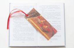 Kolorowa zakładka do książki oriental