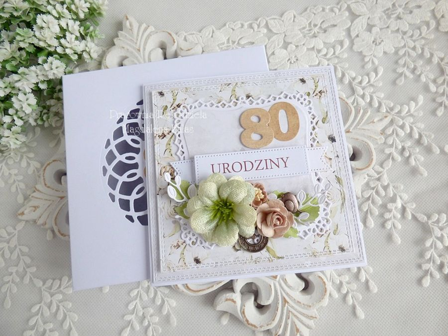 Kartka urodzinowa w pudełku 181