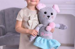 Przytulanka dziecięca myszka z personalizacją