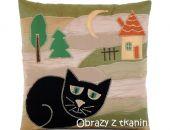 Patchwork PoDuSzKa Czarny Kot