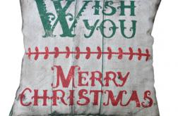 Poszewka świąteczna -motyw 2 -Boże Narodzenie