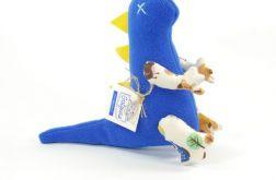 Niebiesko-żółty dinozaur