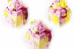 Exploding Box pudełko ślubne super soczysty