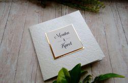 Zaproszenia ślubne z tłoczeniem ZS 181