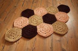 Dywanik Hexagony