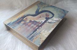 szkatułka-księga z aniołem wspomnień