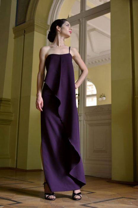 Suknia wieczorowa / fioletowa – SARINA