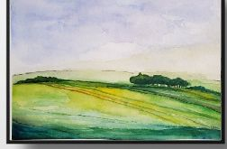 Pejzaż-akwarela 32/24 cm