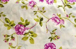 Tkanina bawełna- drobne kwiaty