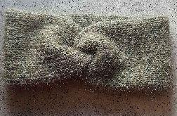 Opaska alpaka, jedwab, moher morska