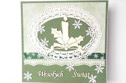 Kartka swiąteczna zielona