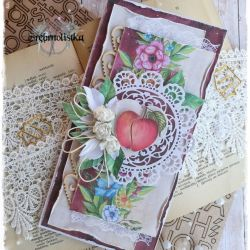 Kartka ślubna vol.14 z jabłkiem