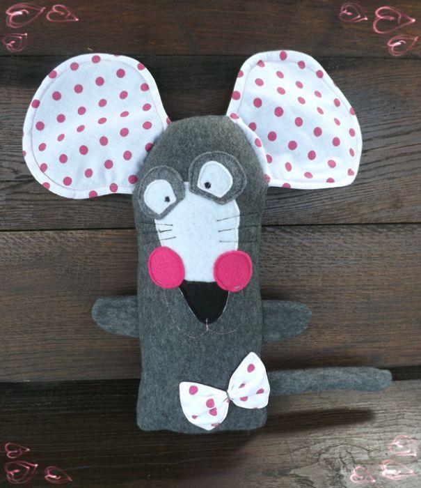 mysz wielkoucha groszki -