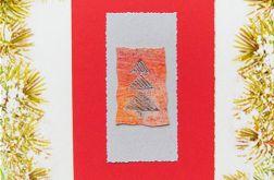 Kartka  świąteczna minimalizm nr 35
