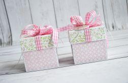 Eksplodujące pudełko ślubne w różu