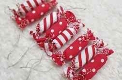 Cukierki bawełniane na choinkę