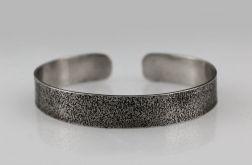 Piasek - srebrna bransoleta 190804-03