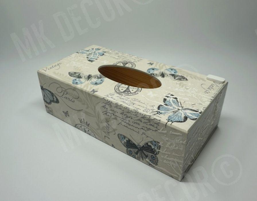 Pudełko prostokątne na chusteczki - pudełko z frontu 2