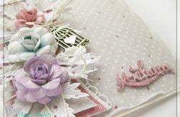 Romantyczna kartka z kwiatami 1