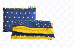 Zestaw MINKY kocyk + poduszka dla Maluszka