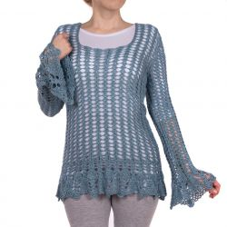 Bluzka ażurowa handmade