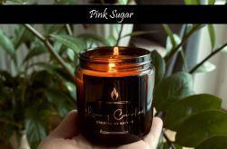 Pink Sugar - naturalna świeca sojowa 120ml