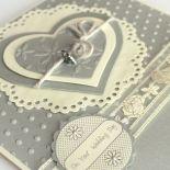 Kartka ślubna - słonik na szczęście