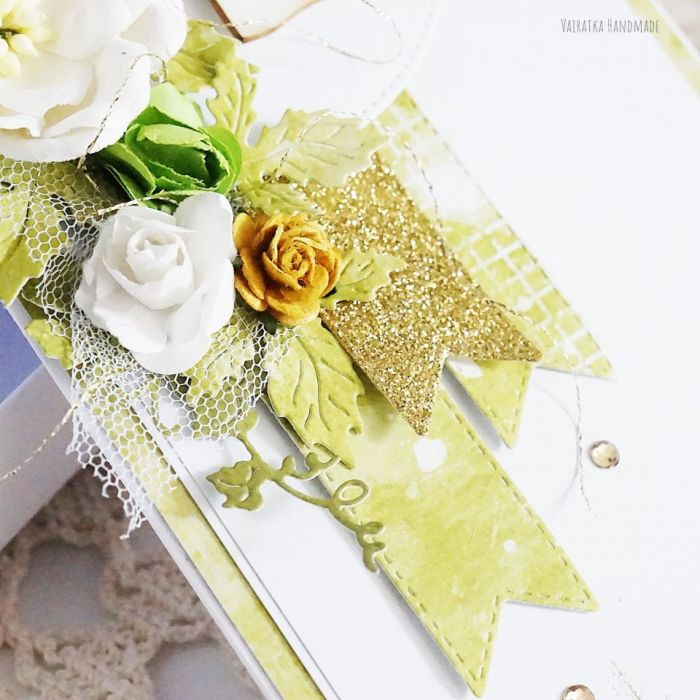 Kartka ślubna w pudełku, 452