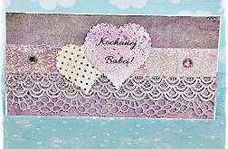 Kartka dla Babci - fiolet
