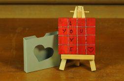 Walentynkowa kartka-magnes 3