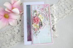 Ślubna kartka w pudełku 199