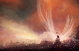 Obraz - Podróż duszy - płótno - malowany, orientalny