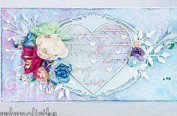 Kartka z sercem LOVE vol.1