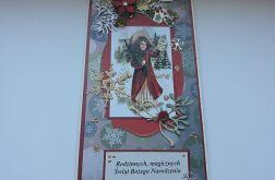 Kartka Boże Narodzenie Vintage 3