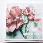 Kartka ŚLUBNA z grafiką - czerwone kwiaty - Kartka Ślubna z grafiką - czerwone kwiaty