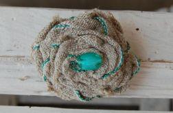 Vintage z morską nutą - broszka vintage