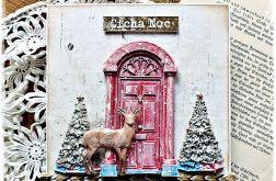 Cicha noc - kartka bożonarodzeniowa