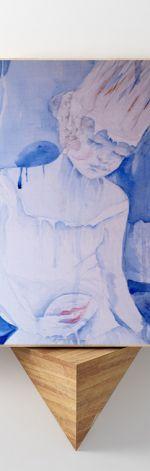 Biała Królowa... reprodukcja 20x30 cm.