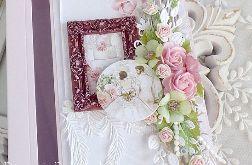 Ślubna kartka w pudełku 315