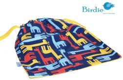 Woreczek na obuwie, ubranie -Żyrafy  by Birdie
