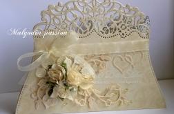 Kartka kopertówka ślubna
